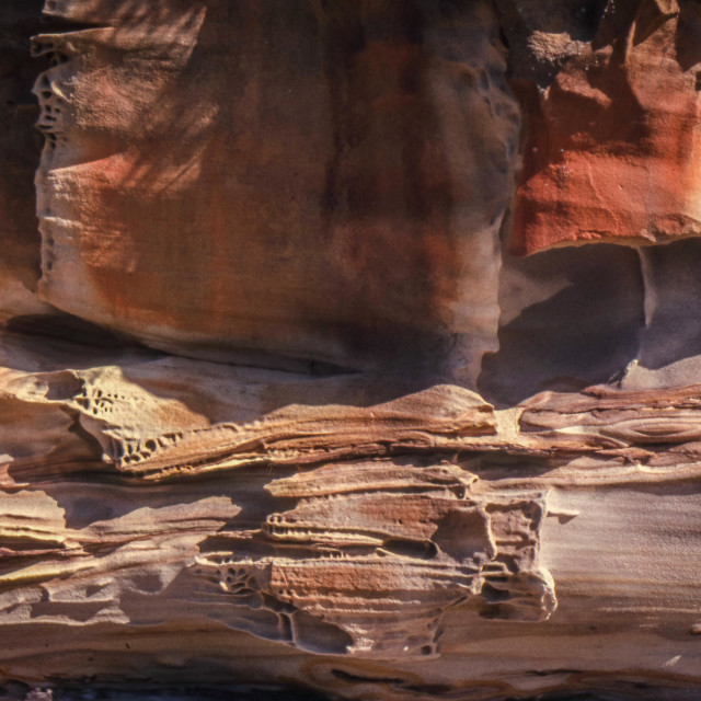 """""""Sandstone abstract 3"""" stock image"""