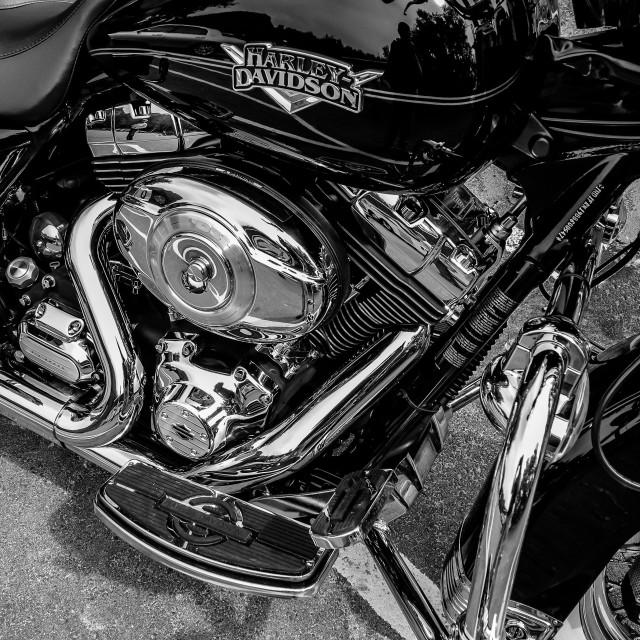 """Harley Chrome"" stock image"