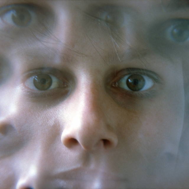 """""""Big Sister Is Watching You"""" stock image"""