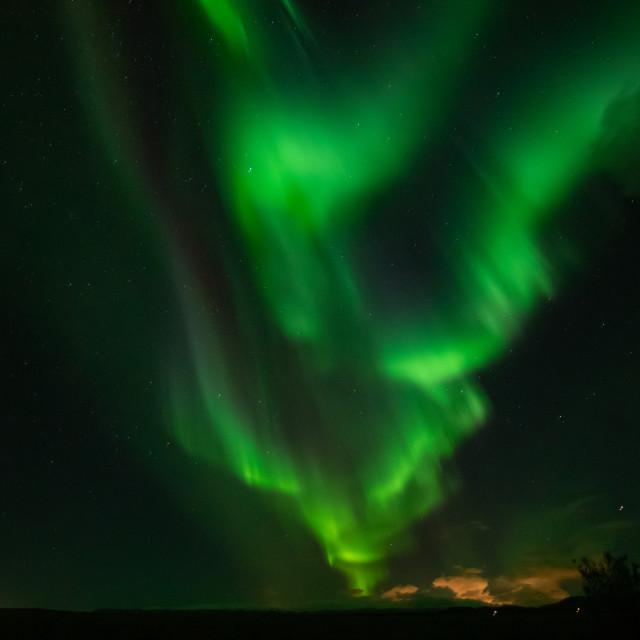 """""""Northern Lights"""" stock image"""