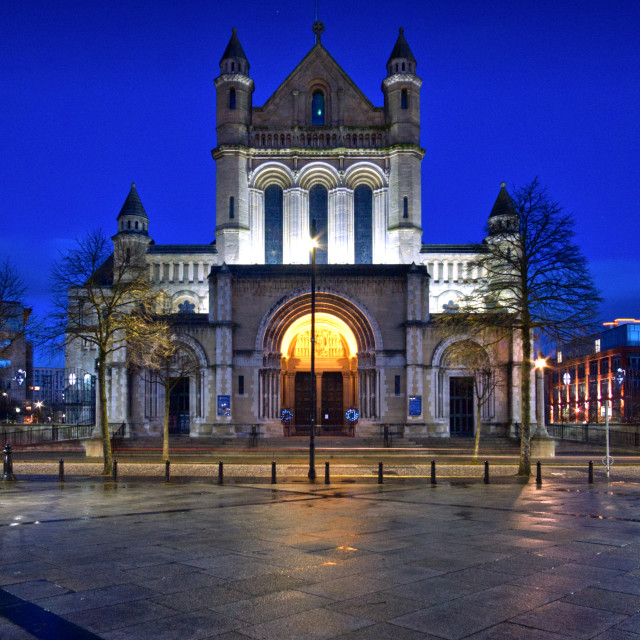 """""""St Anne's Cathedral"""" stock image"""