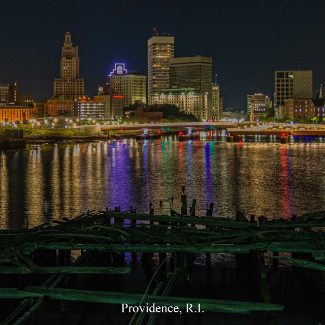 """Providence Lights"" stock image"