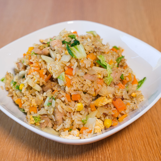"""Fried Rice"" stock image"