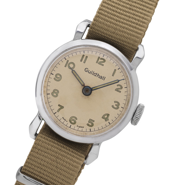 """A 1950s wristwatch"" stock image"