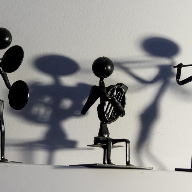"""Band ornament with shadows"" stock image"