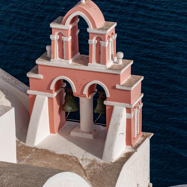 """Santorini Pink"" stock image"