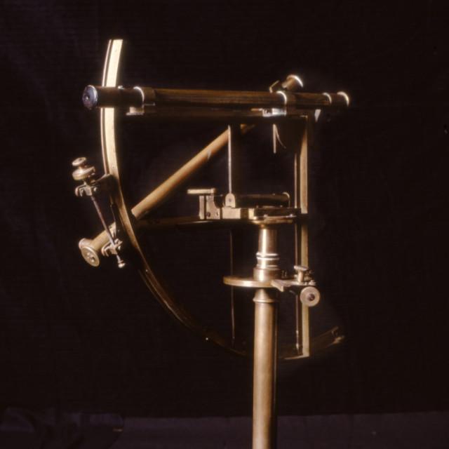 """Antique astronomical navigation instrument"" stock image"