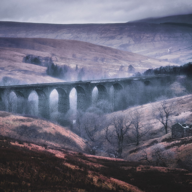 """Dent Head Viaduct"" stock image"