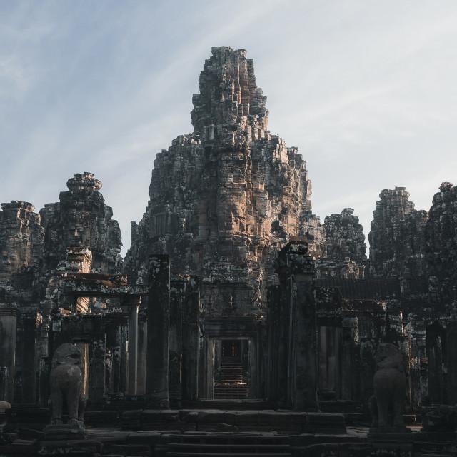 """Bayon Temple"" stock image"