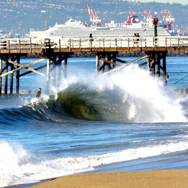 """Long Beach"" stock image"