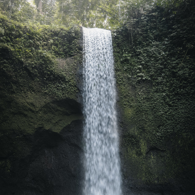 """Tibumana Falls"" stock image"