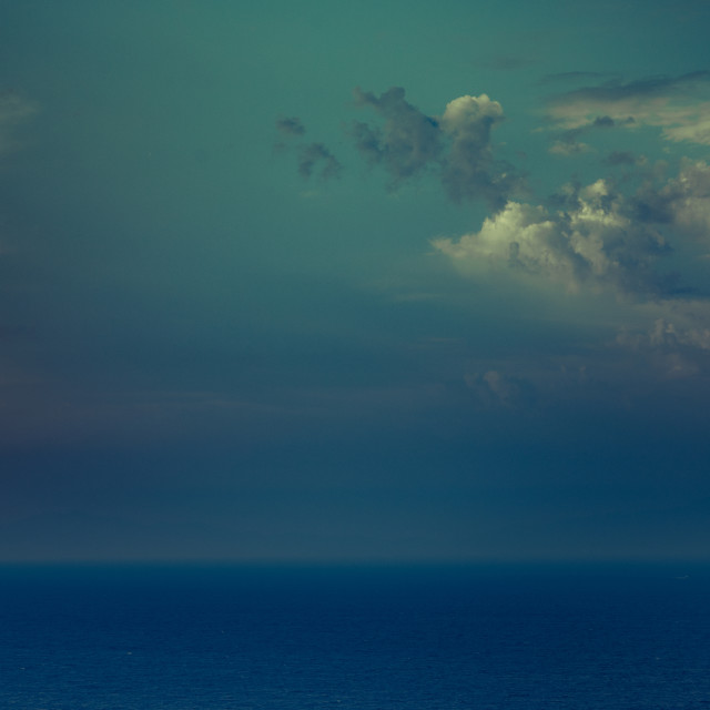 """""""""""Feelings Coming And Going"""" - Cloudy Sky After Storm"""" stock image"""