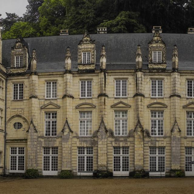 """""""Chateau d'Ussé"""" stock image"""