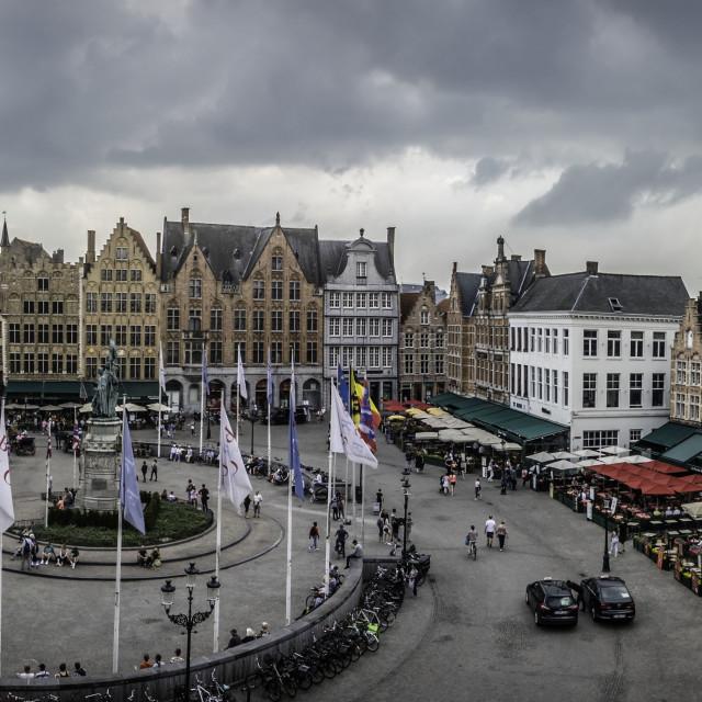 """Markt square detail"" stock image"