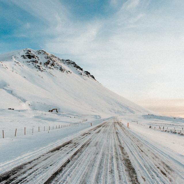 """Icelandic Road"" stock image"