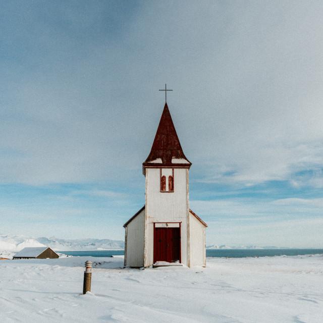 """Iceland Church"" stock image"