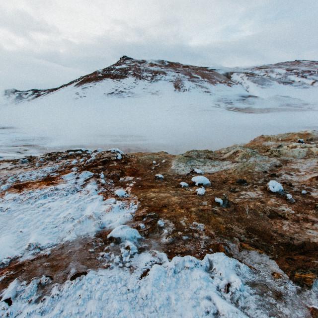 """""""Geothermal Landscape"""" stock image"""