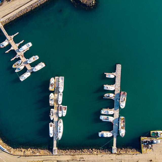 """Small port"" stock image"
