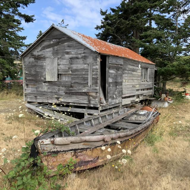 """""""Boathouse"""" stock image"""