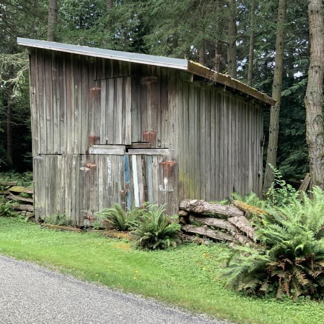 """""""Backhouse"""" stock image"""