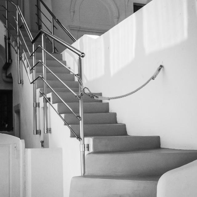 """Stairs @ Imerovigli"" stock image"