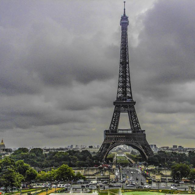 """""""La Tour Eiffel"""" stock image"""