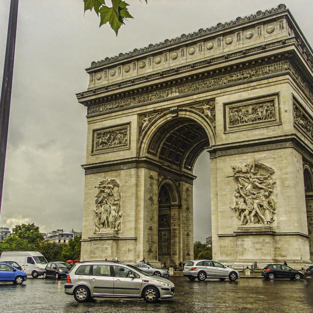 """""""L'Arc de Triomphe"""" stock image"""