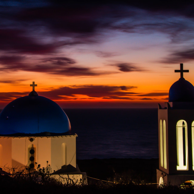 """Daybreak @ Pori Church"" stock image"