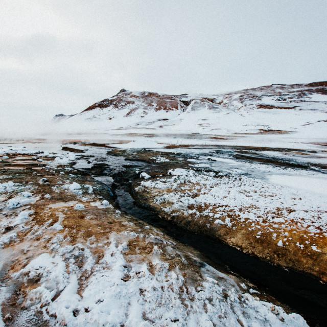 """Geothermal River"" stock image"