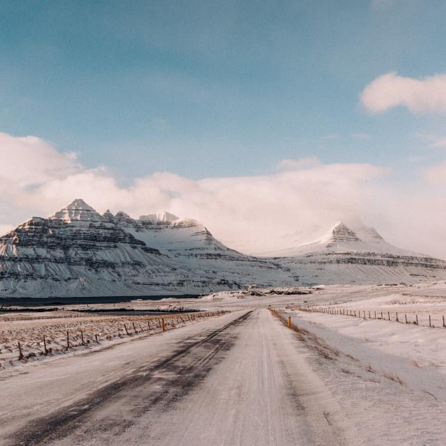 """Iceland Roadtrip"" stock image"