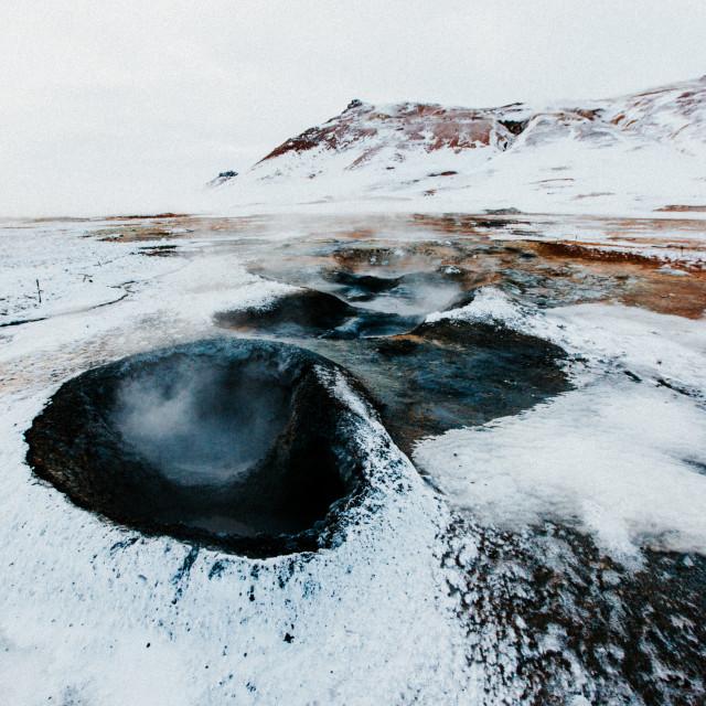 """Geothermal Pools"" stock image"