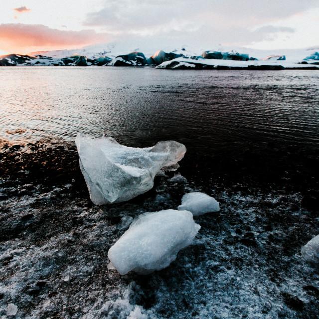 """""""Glacier Debris"""" stock image"""