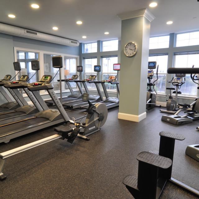 """Gym"" stock image"