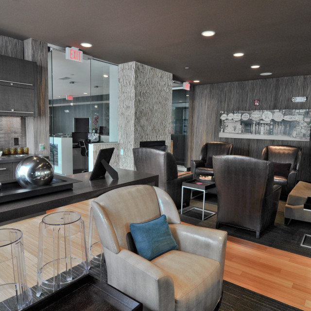 """Residents' Lounge"" stock image"