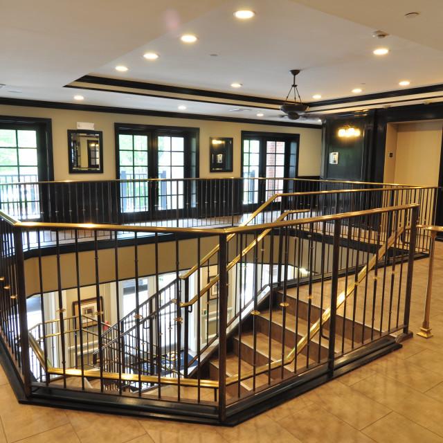 """Lobby & stairwell"" stock image"