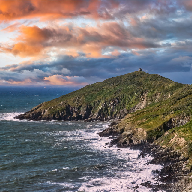 """Rame Head Heritage Coast, Cornwall UK"" stock image"