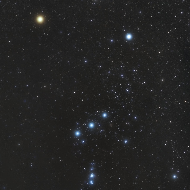 """""""The Constellation of Orion"""" stock image"""