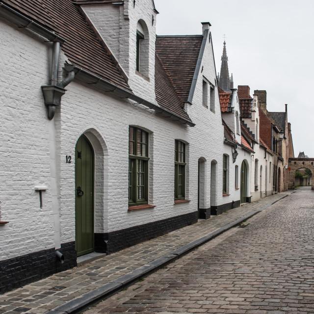 """""""Sint-Jan in De Meers"""" stock image"""