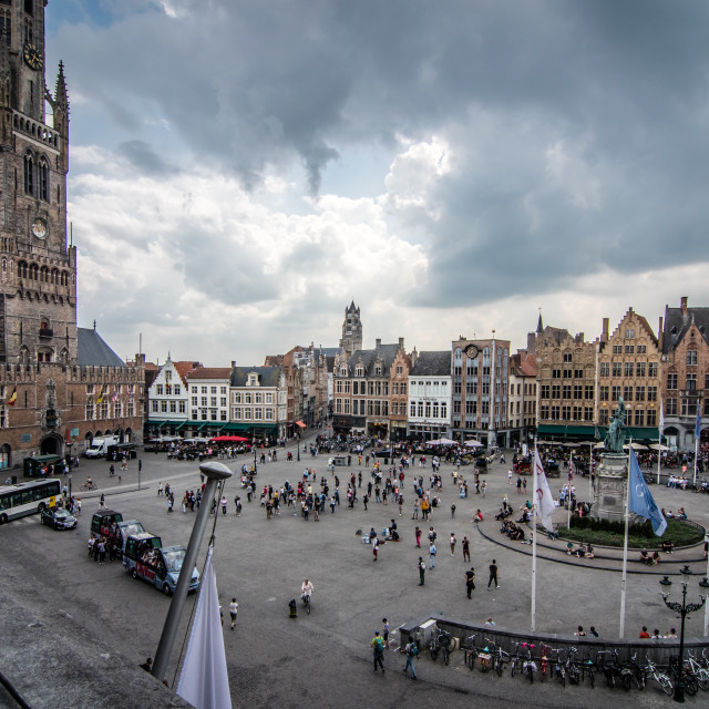 """Markt square"" stock image"