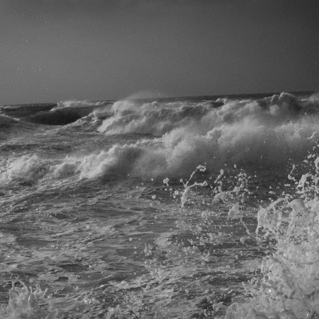 """Sea Twilight"" stock image"