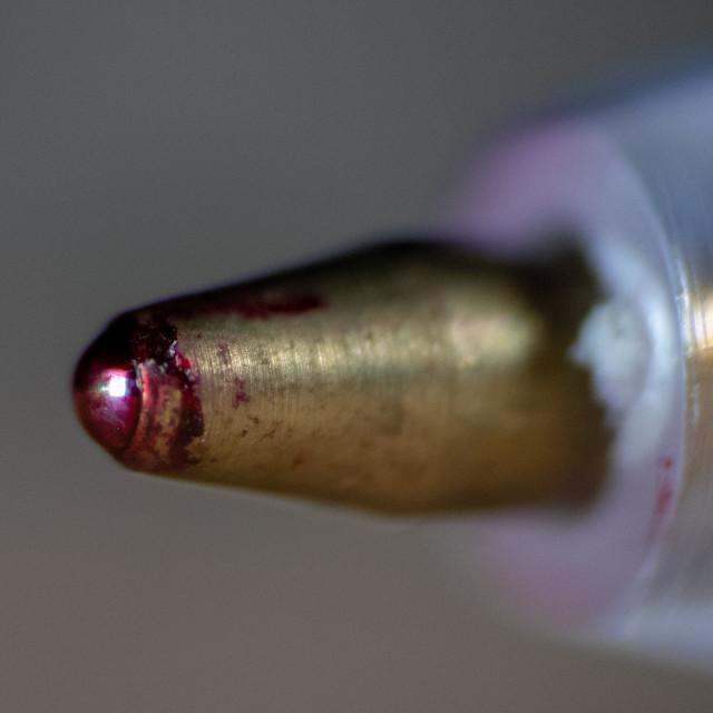 """Ballpoint pen nib"" stock image"