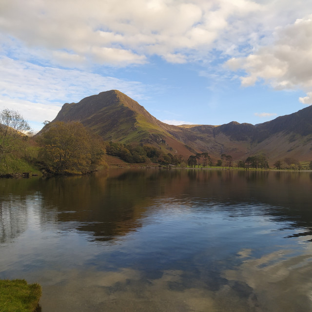 """""""Fleetwith Pike, Buttermere"""" stock image"""