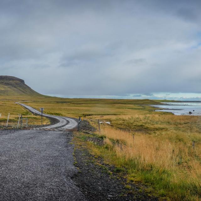 """""""Grundarfjordur Coastal Panorama"""" stock image"""
