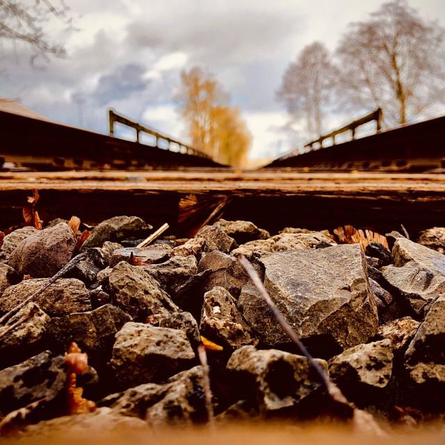 """The Tracks"" stock image"