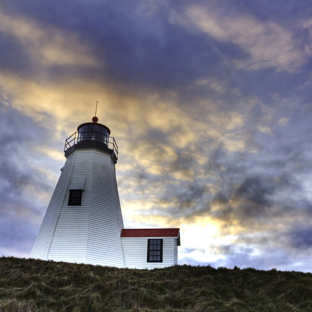 """""""Plymouth light-house"""" stock image"""