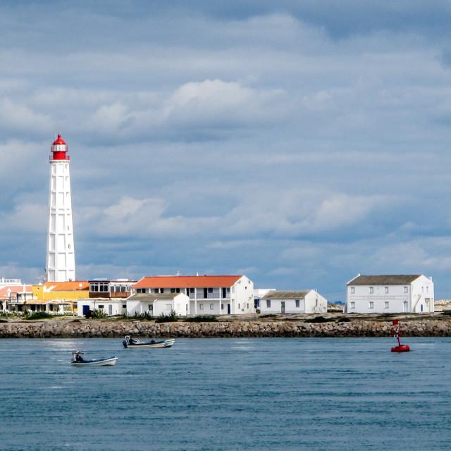 """""""Cabo de Santa Maria Lighthouse"""" stock image"""