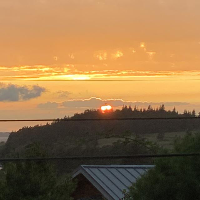 """Summer Sunset# #2"" stock image"