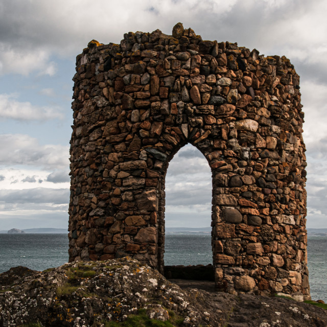 """""""White Lady's Tower"""" stock image"""