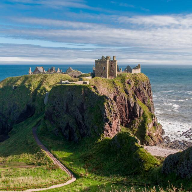 """""""Dunnottar Castle"""" stock image"""