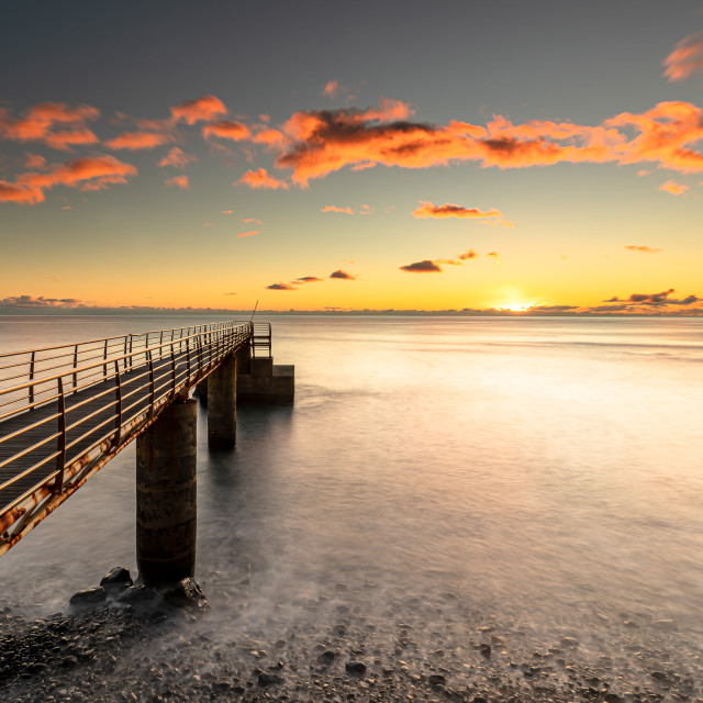"""""""Old Pier"""" stock image"""